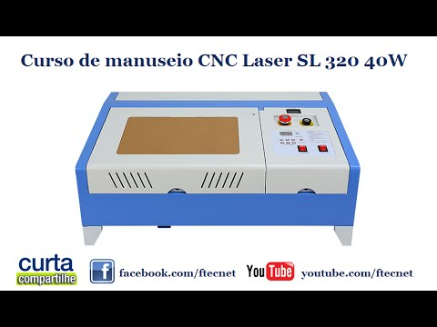 Cnc Laser SL 320 40W