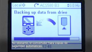 Video: Puesta en marcha del convertidor ACS580