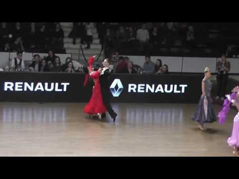 DANCE MASTERS 2017* RAUL SI ANDRA*WDSF WORLD OPEN STANDARD* QUICK STEP