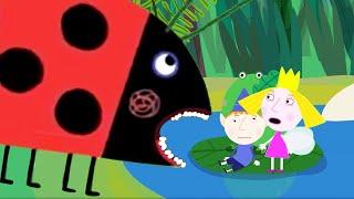 Cartoon Kids - Português Brasil | Gaston a joaninha, está com Fome | Ben e Holly em Português Brasil