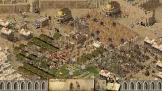 Stronghold Crusader Multiplayer - .:NightMare:. vs SergiuhelldragoonHQ | Deathmatch [1080p/HD]