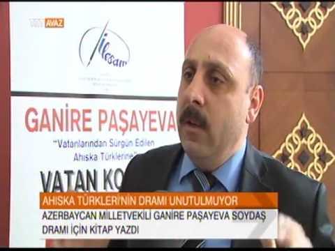 İLESAM Haber TRT Avaz-Ganire Paşayeva