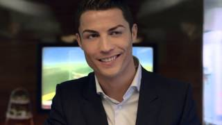El anuncio de Cristiano Ronaldo con Pelé para Fly Emirates