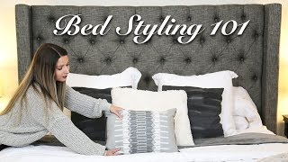 How To Style a Bed | Cozy Master Bedroom Makeover