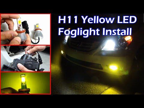 ZDATT Amber LED Light Review and Install