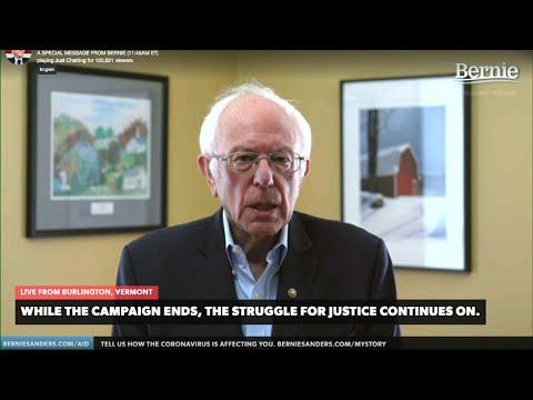 Sanders ends bid: