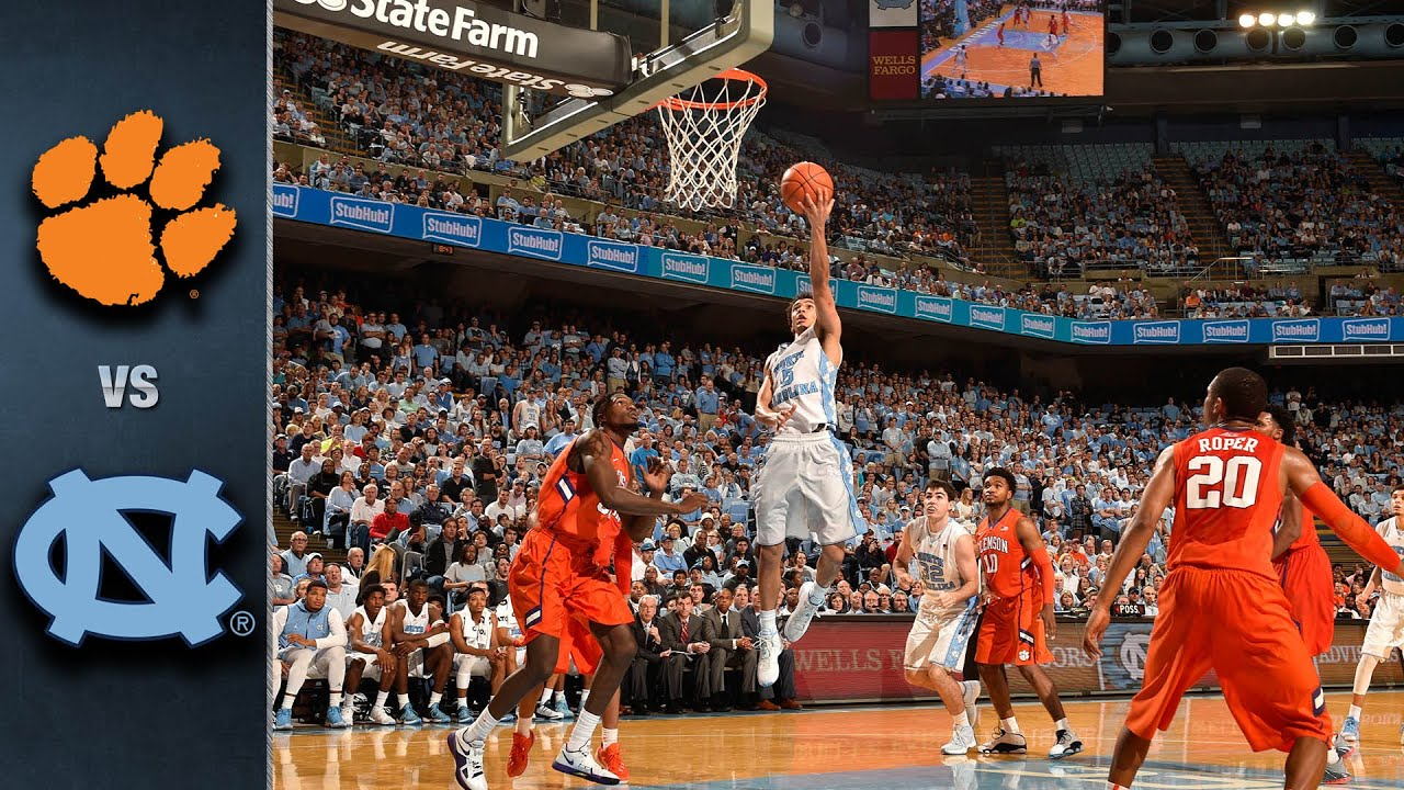 Image result for Clemson vs NC State basketball pic