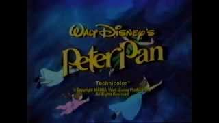 80's Ads: Trailer Walt Disney's Peter Pan TV Spot 1982