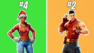 "TOP 5 CHEAP SKINS! -The best 800 V-bucks skins! -""Fortnite Suomi"" Top 5"