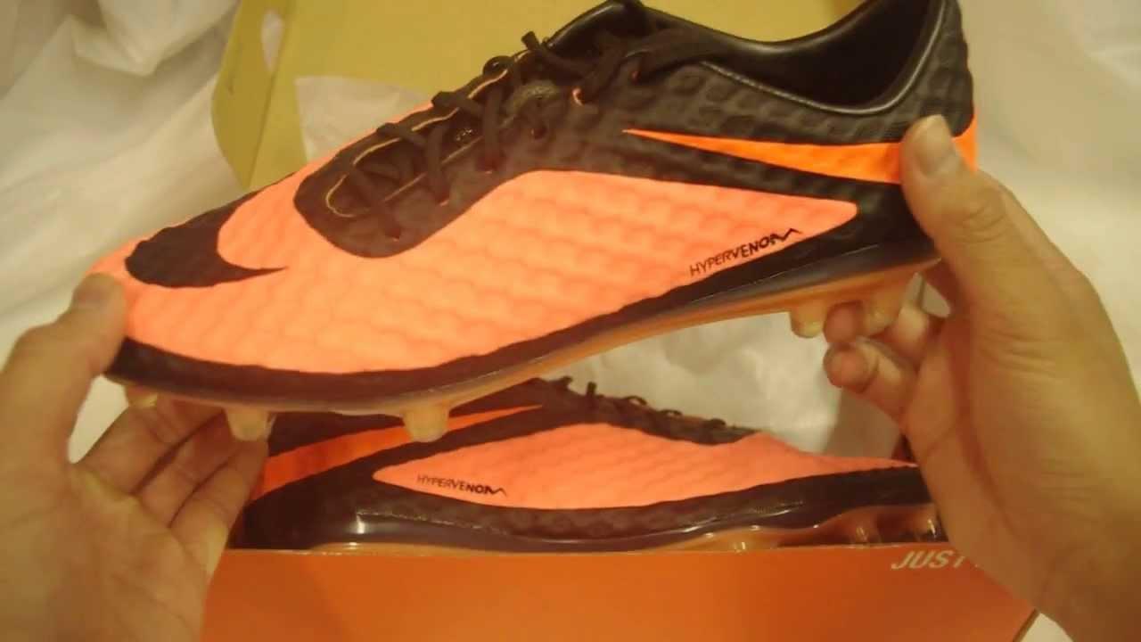 d9df08012 Nike Hypervenom Phantom FG Orange/Black - YouTube