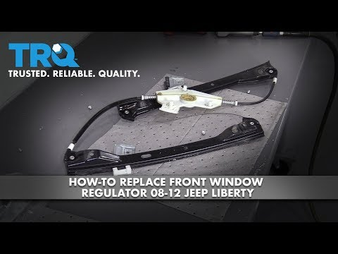 How to Replace Front Window Regulator 09-16 Mercedes-Benz E350