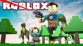 BATTLE AS A GIANT BOSS IN ROBLOX!!! | MicroGuardian