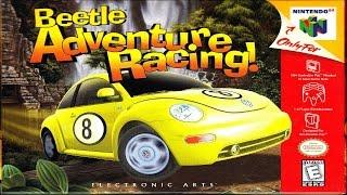 Beetle Adventure Racing N64 Gameplay