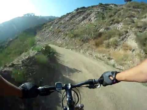 Henninger Flats to Eaton Canyon Downhill