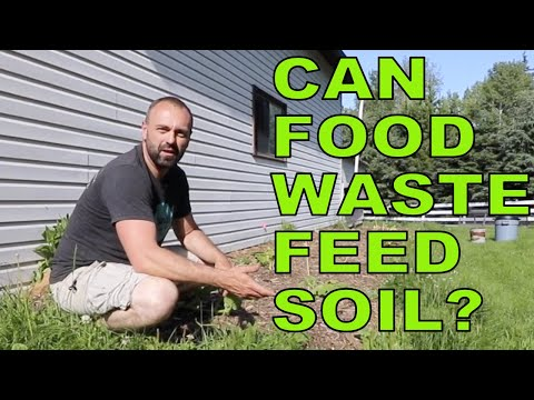 Can Dehydrated Food Waste Be Used To Feed the Soil