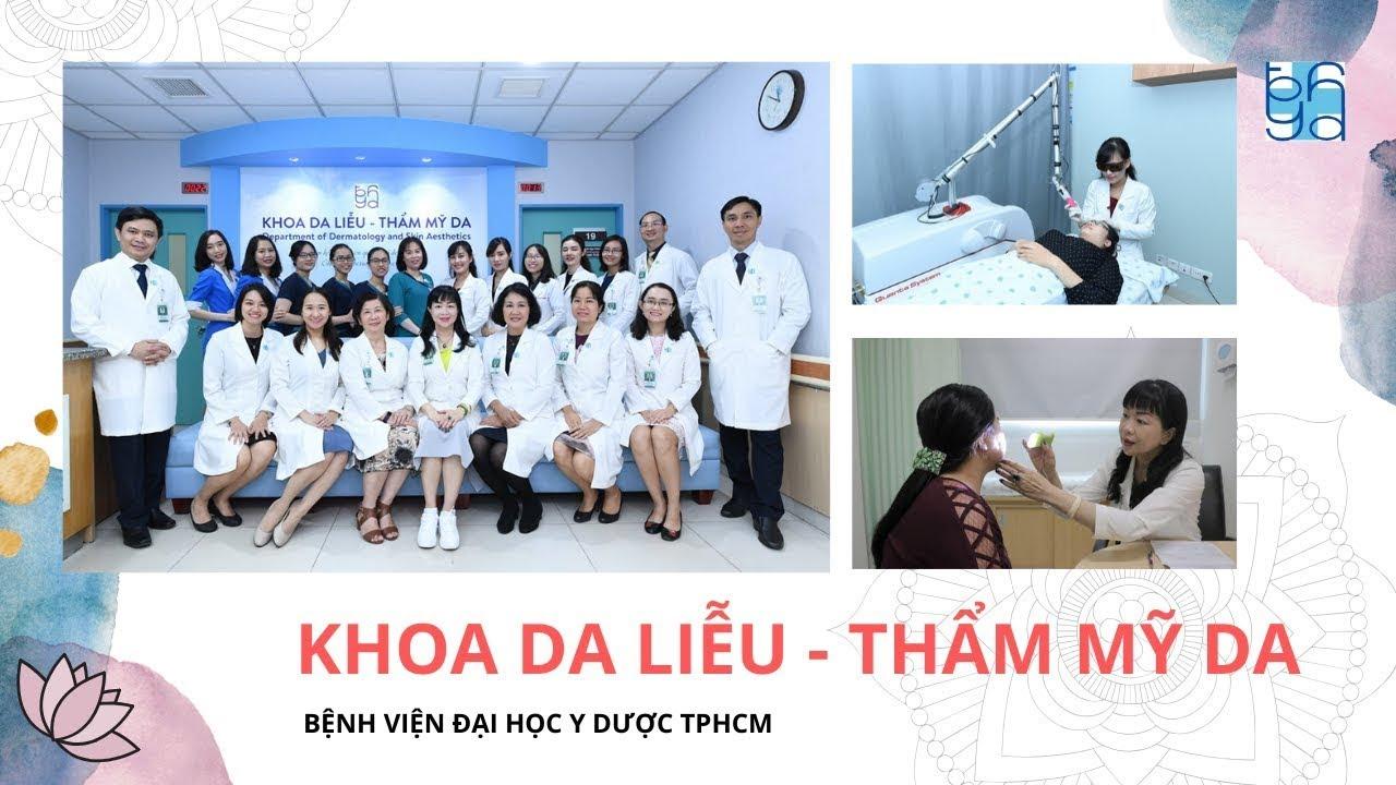 [VIETSUB] Giới thiệu Khoa Thẩm mỹ da | UMC | Bệnh viện Đại học Y Dược TPHCM