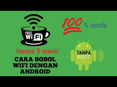 Cara Bobol Wifi Android Tanpa Root Youtube
