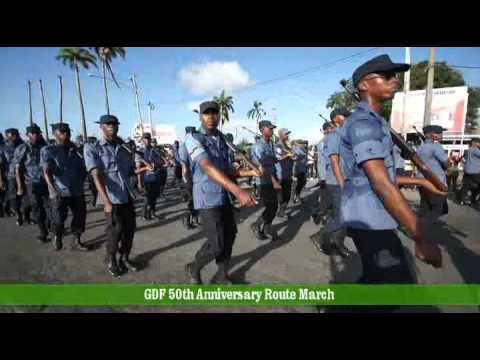 Guyana Defence Force - 50th Anniversary Route March - November 14, 2015