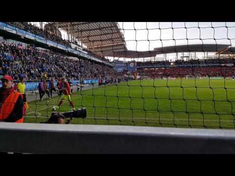 Kevin De Bruyne's Corner Kick - Estonia Vs Belgium WC2018 Qualifications