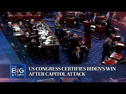 US Congress certifies Biden's win after Capitol attack | THE BIG STORY thumbnail