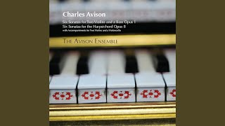 Keyboard Sonata in D Major, Op. 8, No. 3: II. Aria: Allegretto