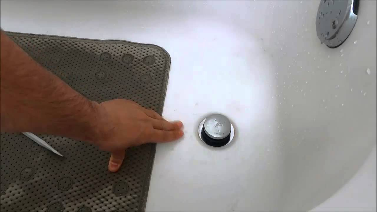 How To Replace A Bathtub Drain Stopper Toe Touch Youtube