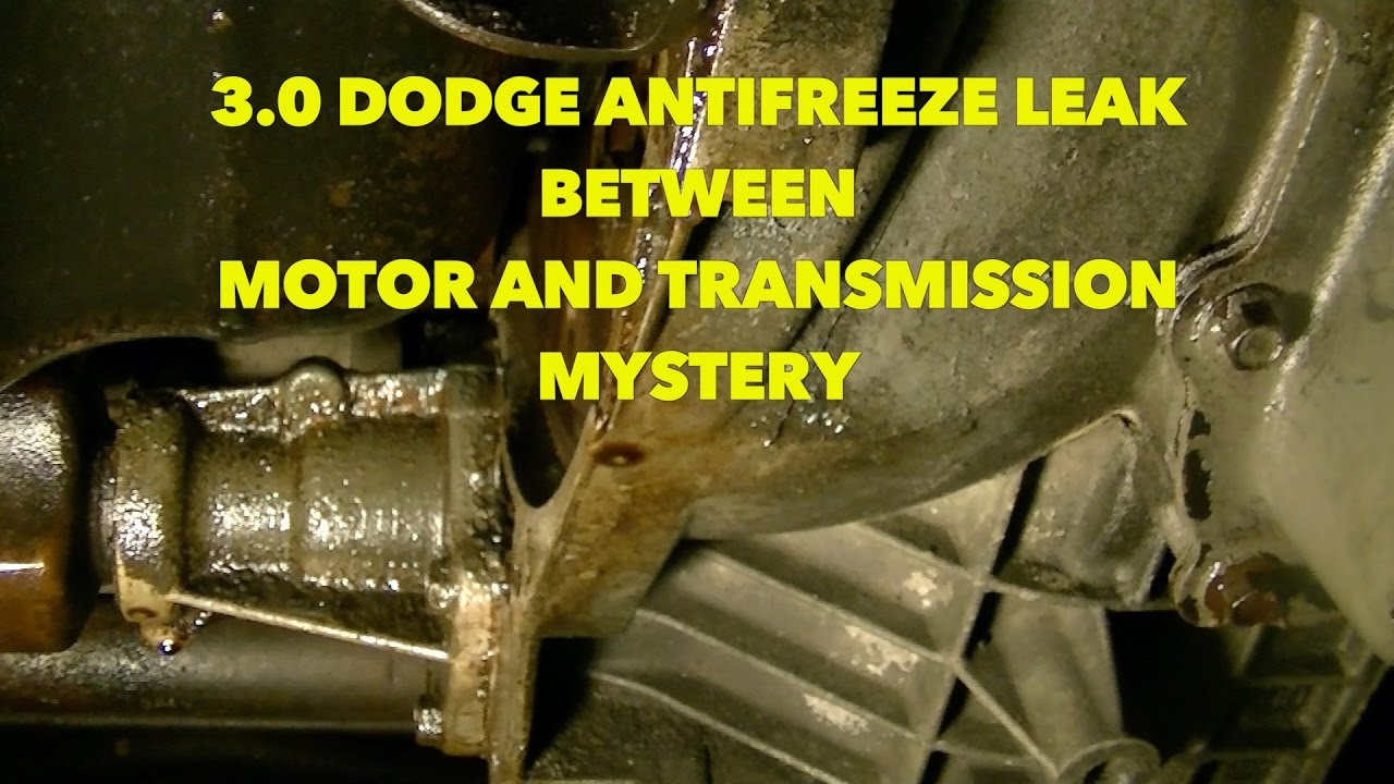 medium resolution of mysterious antifreeze leak where is it coming from part 1