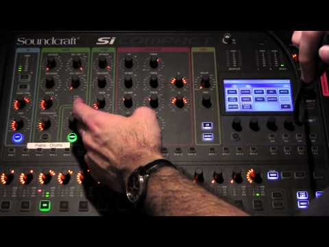 Soundcraft SI Compact Training session part 1