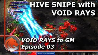 StarCraft 2: MASS Void Rays vs MASS Bio BASETRADE!