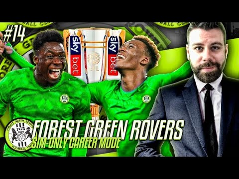 TOP OF THE PREMIER LEAGUE?!? HUGE GAME VS MANCHESTER CITY - Forest Green SIMULATION CAREER MODE #14