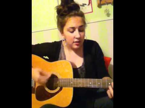 Giving You Up - Miley Cyrus Acoustic Guitar Cover by Nikki - YouTube
