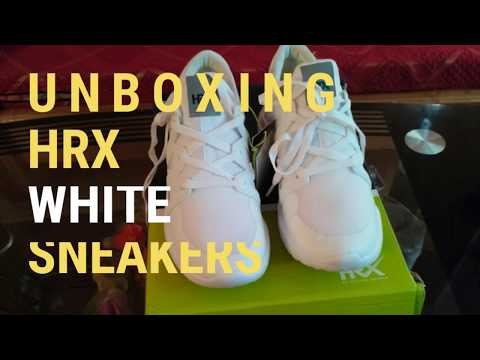 HRX White Sneakers [UNBOXING]