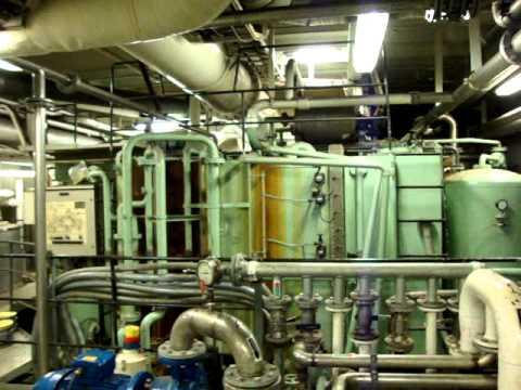 Engine Room Tour Cruiseferry Tallink Silja Line M S Silja