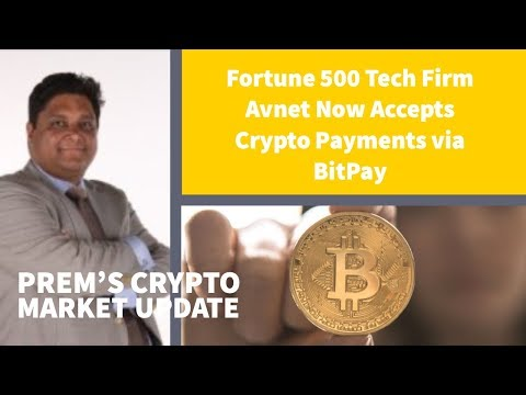 Fortune 500 Tech Firm Avnet accepteert Crypto's via BitPay