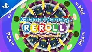 Katamari Damacy Reroll - Street Date Announcement Trailer - PS4