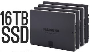 Samsung 16 Terabyte SSD [World's Largest!]