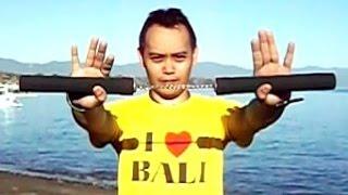 Video NUNCHAKU Inc Training Bruce Lee - Lovina Beach Bali - NUNCHUKS Basics [HD] download MP3, 3GP, MP4, WEBM, AVI, FLV Desember 2017