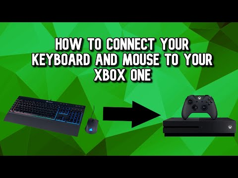 How To Connect Your Keyboard And Mouse To Your Xbox One! (NO ADAPTERS!)