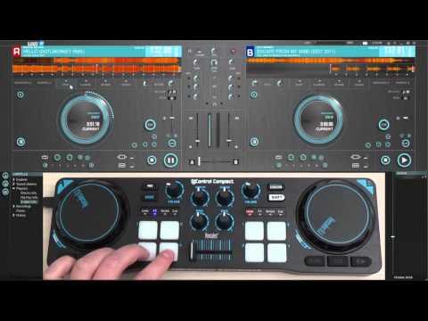 Hercules DJControl Compact & DJUCED 18°