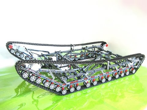 Lego - EV3 - Big and Light Tank Robot Stair Climber  #12