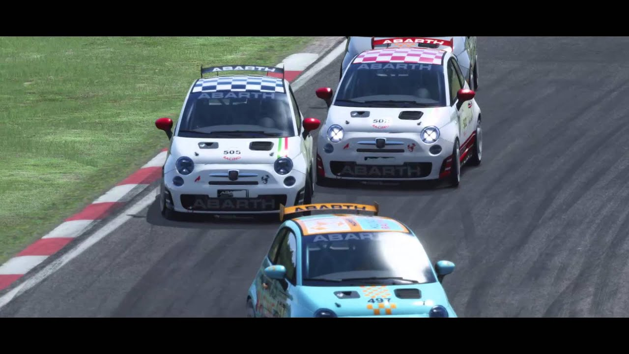 Abarth 500 Cup Trailer