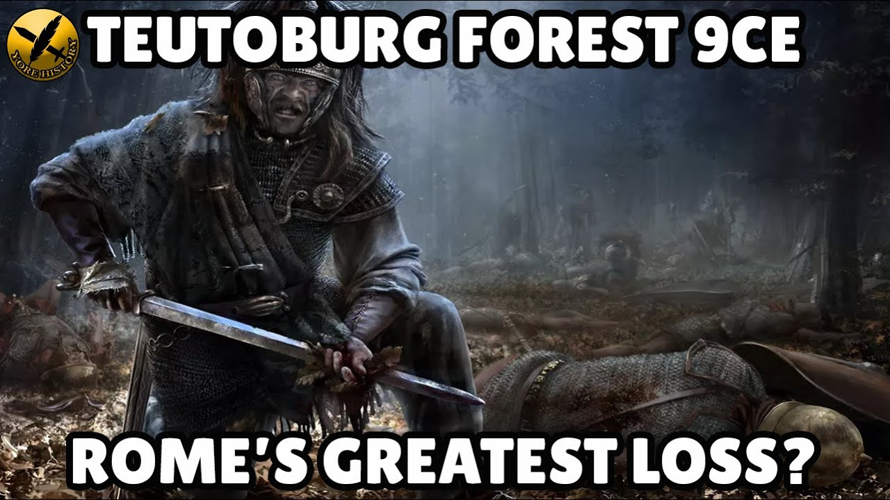 ⚔️BATTLE OF TEUTOBURG FOREST 9CE - Germania and Arminius 🆚 Varus and Rome!