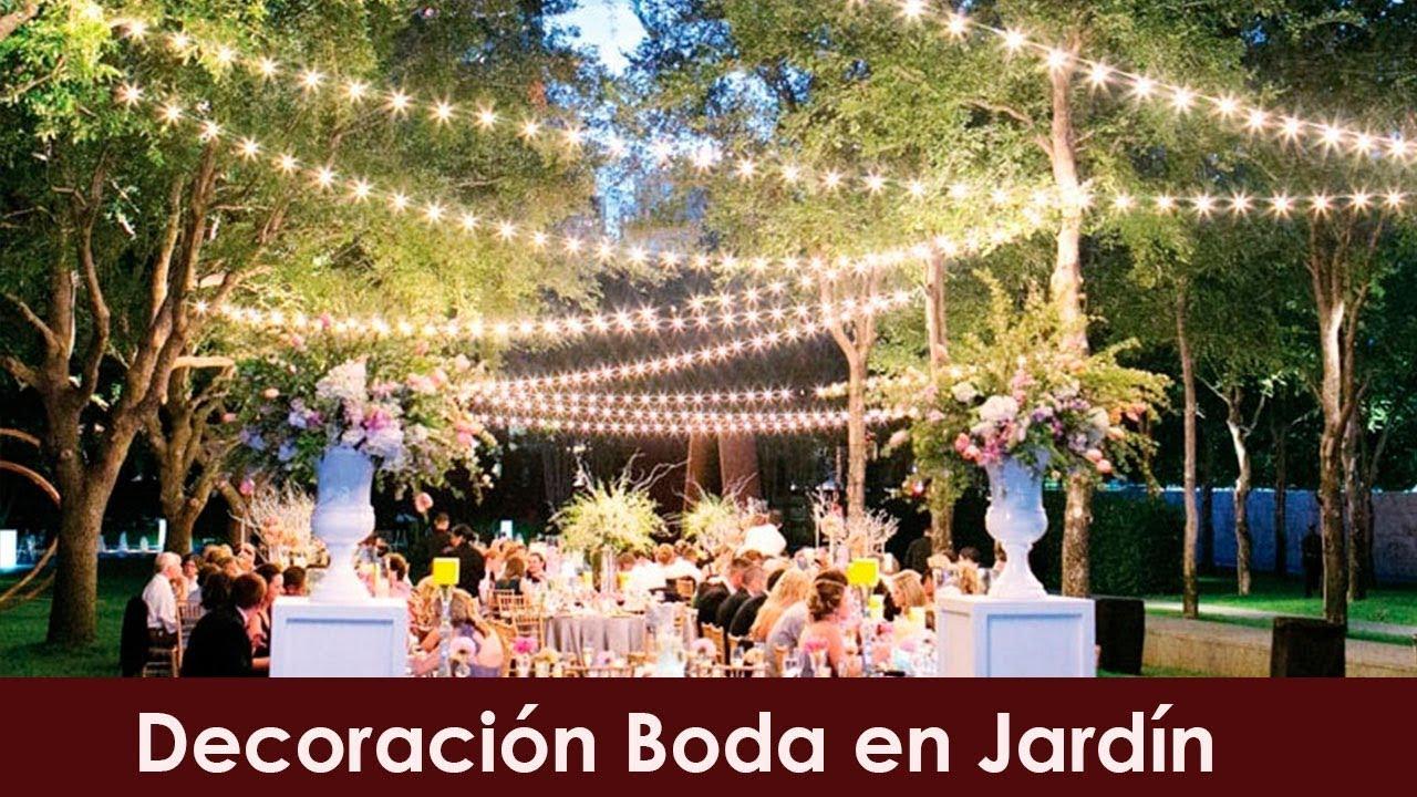 Decoracion Boda Jardin