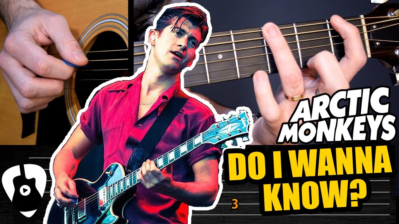Aprende como tocar Do I Wanna Know? en guitarra acústica (Arctic Monkeys) | Tutorial Tablatura TCDG
