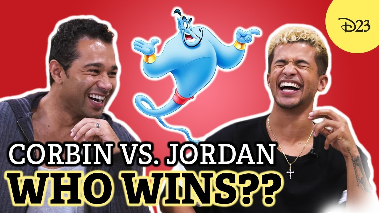 low priced fe0c4 fb650 Jordan Fisher vs. Corbin Bleu  Who s the Bigger Fan    D23 s Ultimate  Disney Fan Quiz
