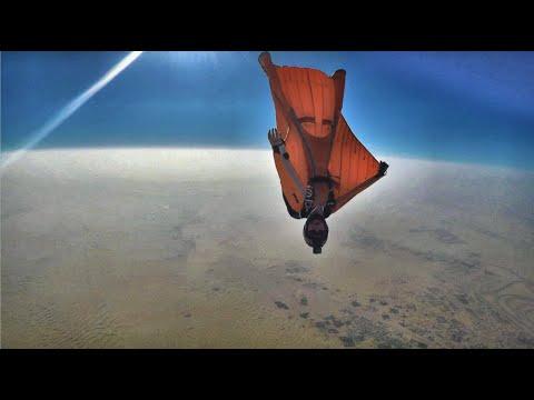 Wingsuit Experience 5 Best of Feb 2018 SKY TRASH Skydive Dubai Desert Campus