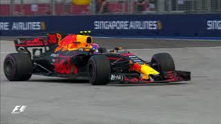 2017 Singapore Grand Prix: FP1 Highlights