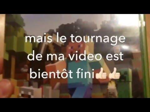 Ma deuxième video Minecraft va bientôt sortir alors préparez vous