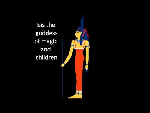 Major Egyptian Gods and Goddesses