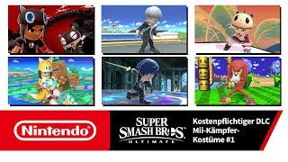Super Smash Bros. Ultimate – Mii-Kämpfer-Kostüme 1  (Nintendo Switch)